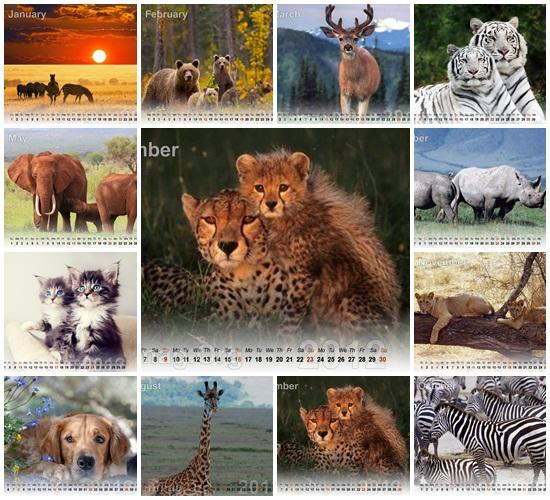 """animals-calendar"""