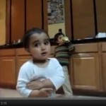 Cute Funny Video Of Baby Arguing With Parents