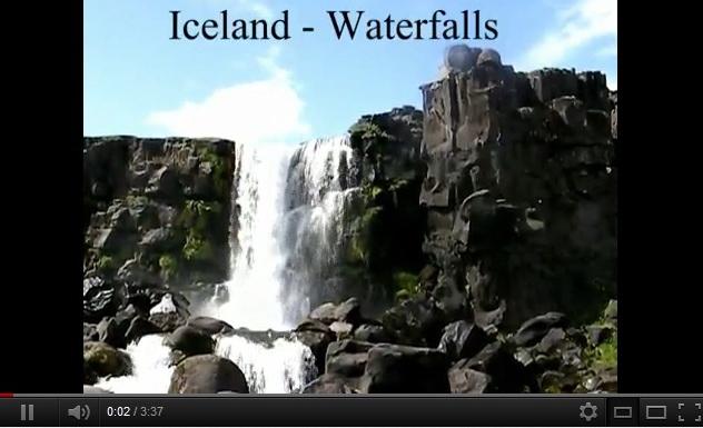 """iceland waterfalls"""