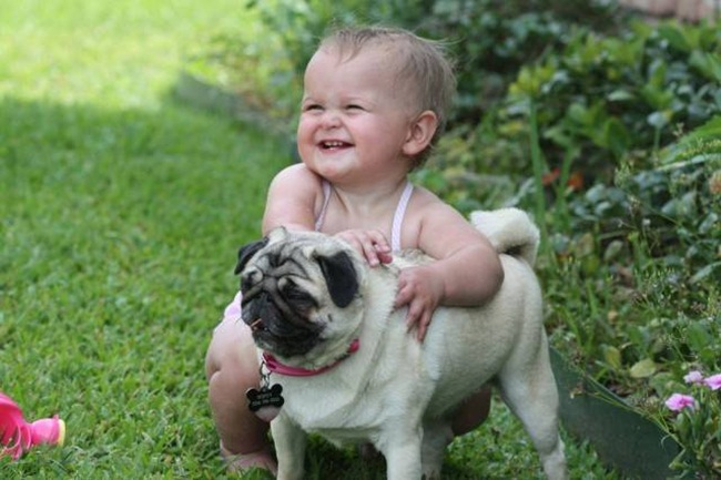 cute-babies-with-dogs- (17)