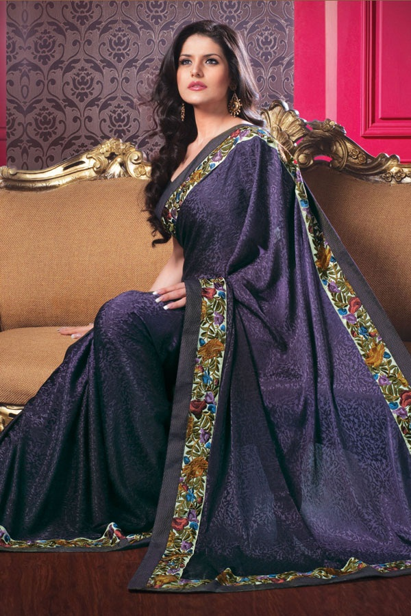 zarine-khan-glorious-saree-collection- (3)