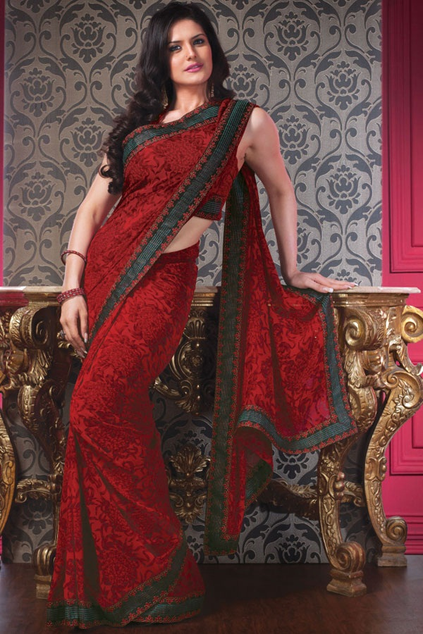 zarine-khan-saree-collection- (9)