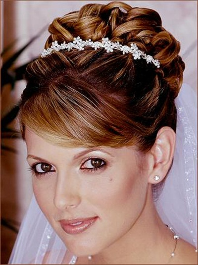 Admirable Elegant Bridal Hairstyles 15 Photos Funmag Org Hairstyles For Men Maxibearus