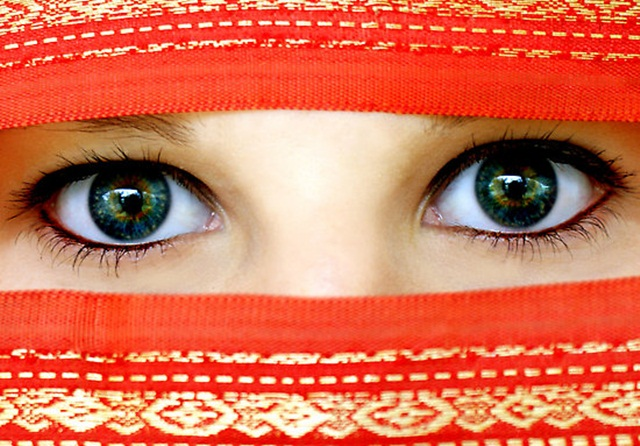 beautiful-eyes-in-veil- (25)