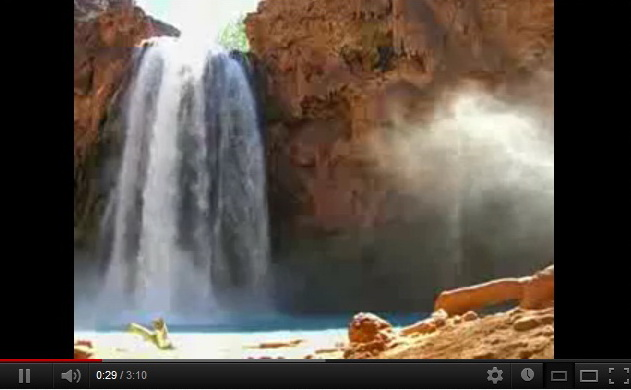"""havasupai-indian-waterfall-video"""