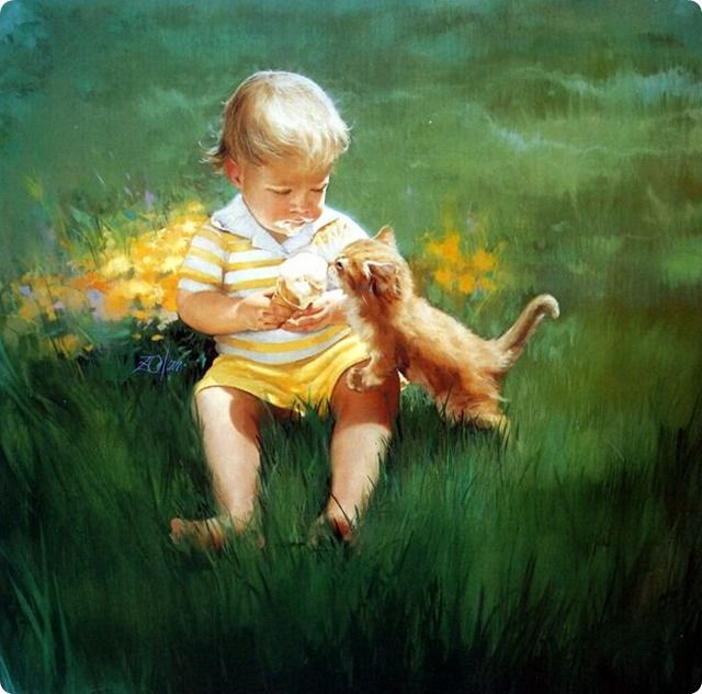 childhood-oil-paintings-by-donald-zolan- (15)