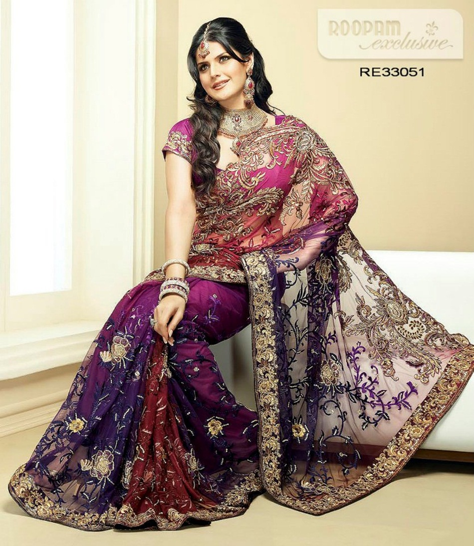 zarine-khan-exclusive-roopam-saree-collection- (8)