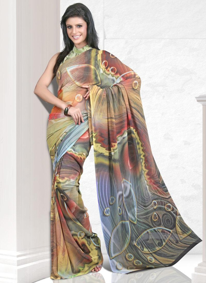 printed-saree-designs-for-summer- (2)