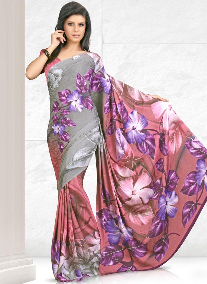 printed-saree-designs-for-summer- (3)