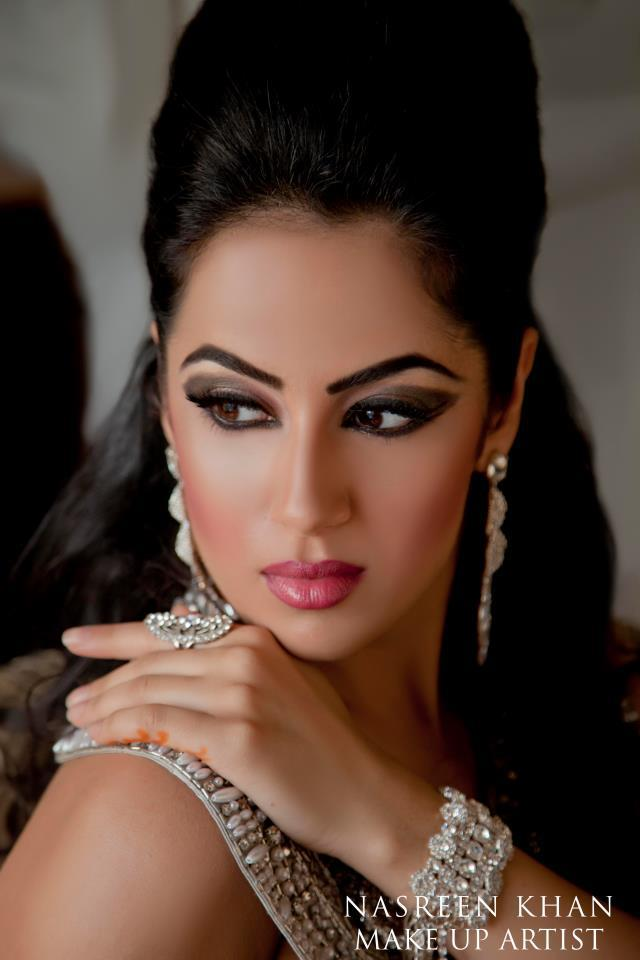 How To Become Bridal Makeup Artist : All Fashion 4 US : Stunning Bridal Makeup