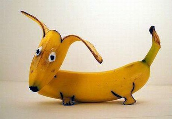 Fun Photo fun with banana