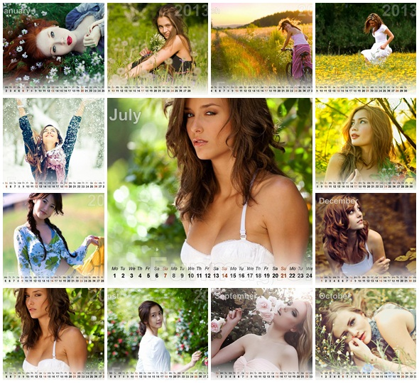 beautiful-women-calendar-2013