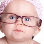 Cute Babies in Glasses