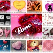 Beautiful Love Calendar 2014