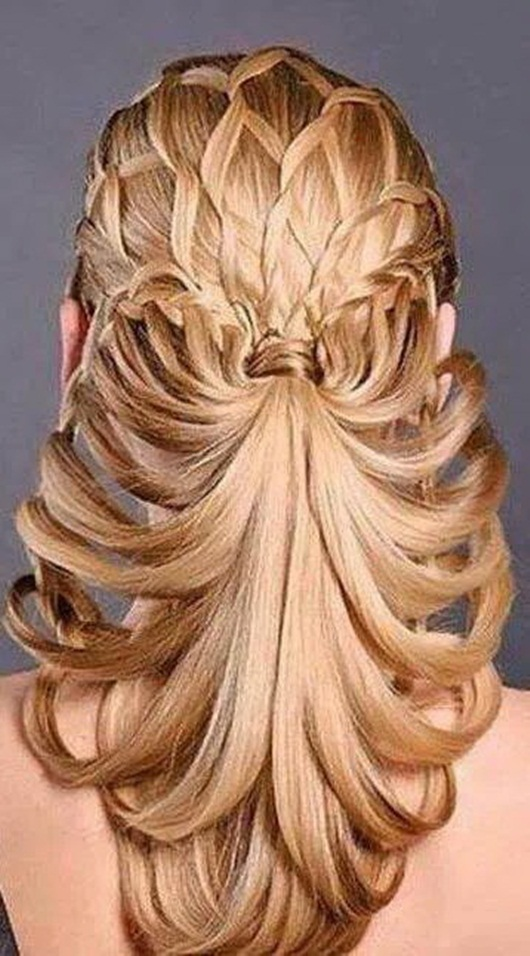 Beautiful Hairstyles Design : Beautiful bridal hair styles photos funmag
