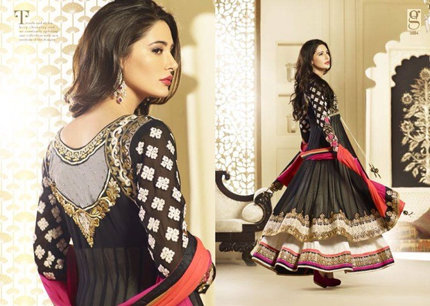 nargis-fakhri-designer-anarkali-dress-2014- (1)