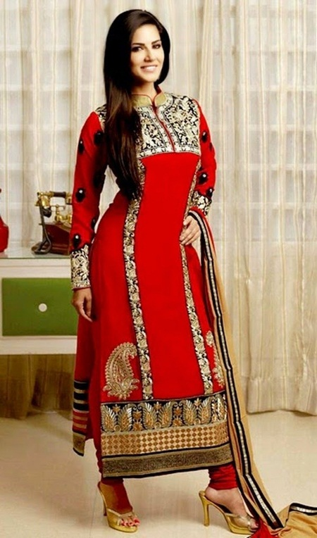 sunny-leone-designer-salwar-kameez-2014- (6)