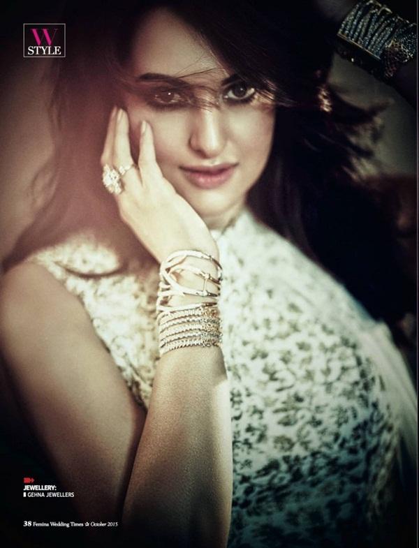 Sonakshi Sinha Photoshoot for Femina Magazine October 2015 | funmag ...