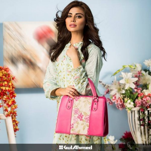 Gul Ahmed Shoes and Bags Collection 2015-16