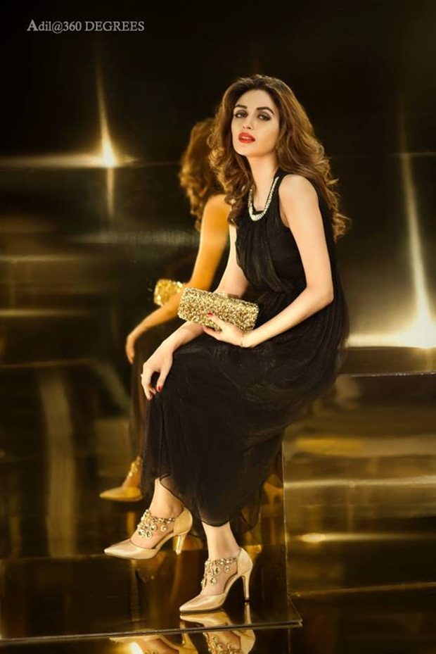 The Photoshoot Of Iman Ali For Latest Collection Metro Shoes