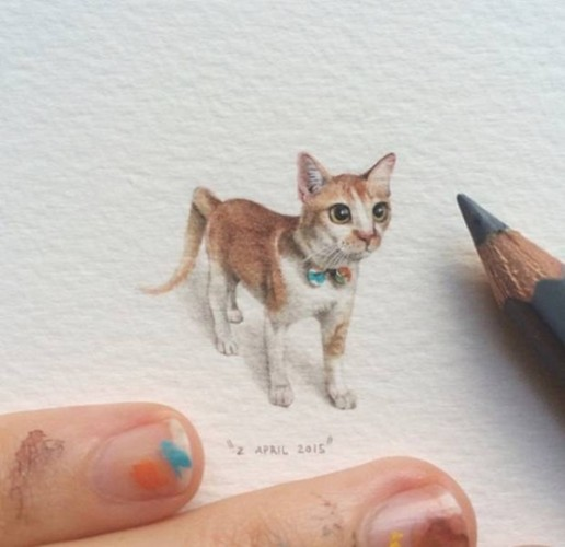 Stunning Small Paintings By Lorraine Loots (33 Photos)