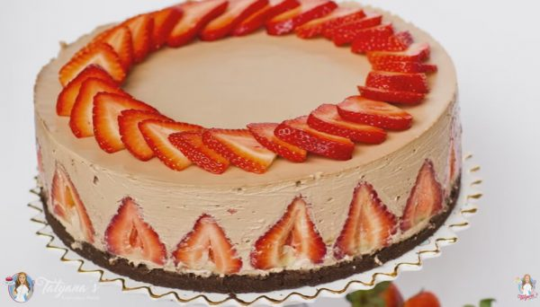 Nutella Strawberry Cheesecake – Video