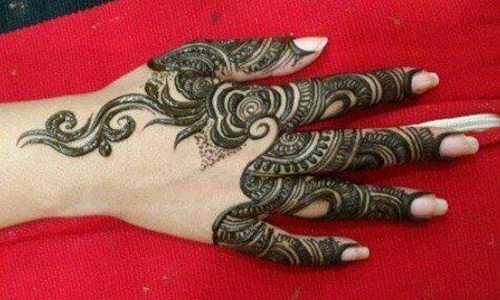 Mehndi Patterns On Fingers : Beautiful mehndi designs for fingers photos funmag