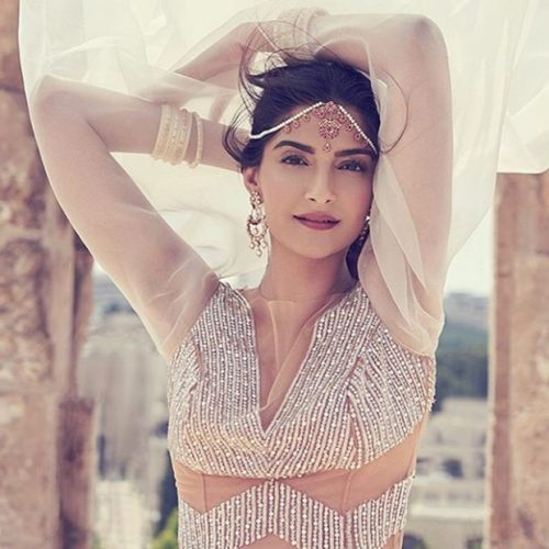 Sonam Kapoor Photoshoot For Harper Bazaar Bride Magazine July 2016