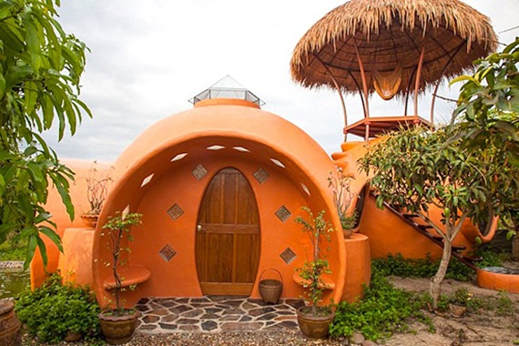 Unique Dome House In Mango Farm (25 Photos)