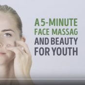 5 Minute Face Massage For Youth and Beauty