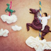 Creative Baby Nap-Time Photography