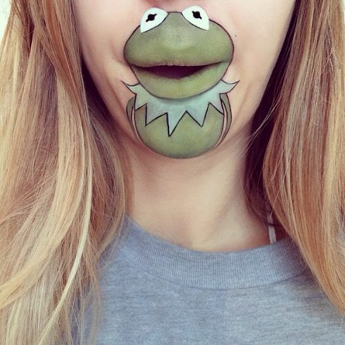 Amazing Cartoon Lips Art
