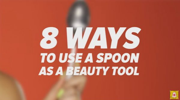 8 Ways To Use A Spoon As A Beauty Tool
