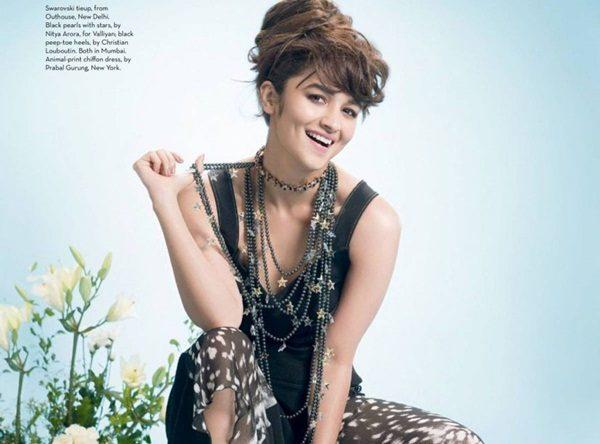 Alia Bhatt Photoshoot For Verve Magazine October 2016