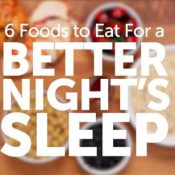 Experience Better Sleep With The Help Of These 6 Foods