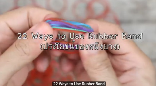22 Rubber Band Tricks to Simplify Your Life
