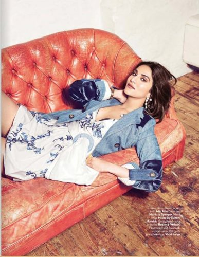 Vaani Kapoor Photoshoot For Vogue Magazine December 2016