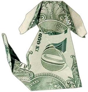 Impressive Money Origami
