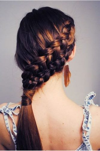 Stylish Braided Hairstyles For Girls (30 Photos)