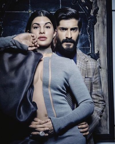 Jacqueline Fernandez and Harshvardhan Kapoor Photoshoot For Harper's Bazaar Bride February 2017