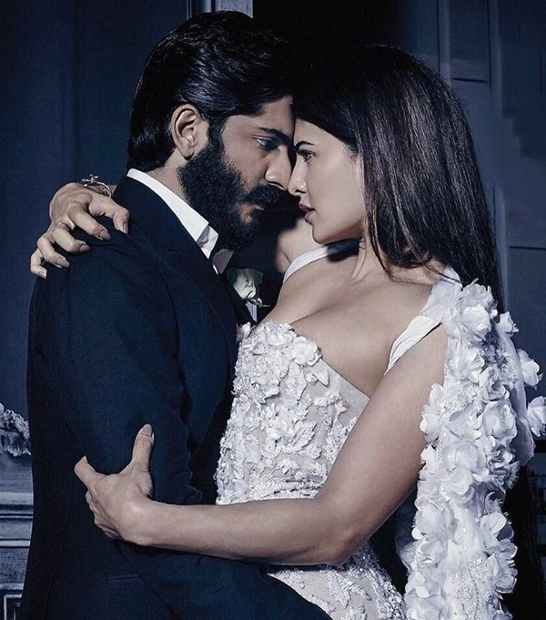 jacqueline-fernandez-and-harshvardhan-kapoor-photoshoot-for-harpers-bazaar-bride-february-2017- (3)