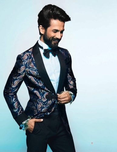 Shahid Kapoor Photoshoot For GQ Magazine February 2017