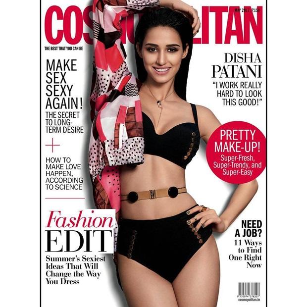 Disha Patani Photoshoot For Cosmopolitan Magazine May 2017   funmag ...