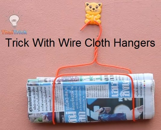 tricks-with-wire-cloth-hangers-